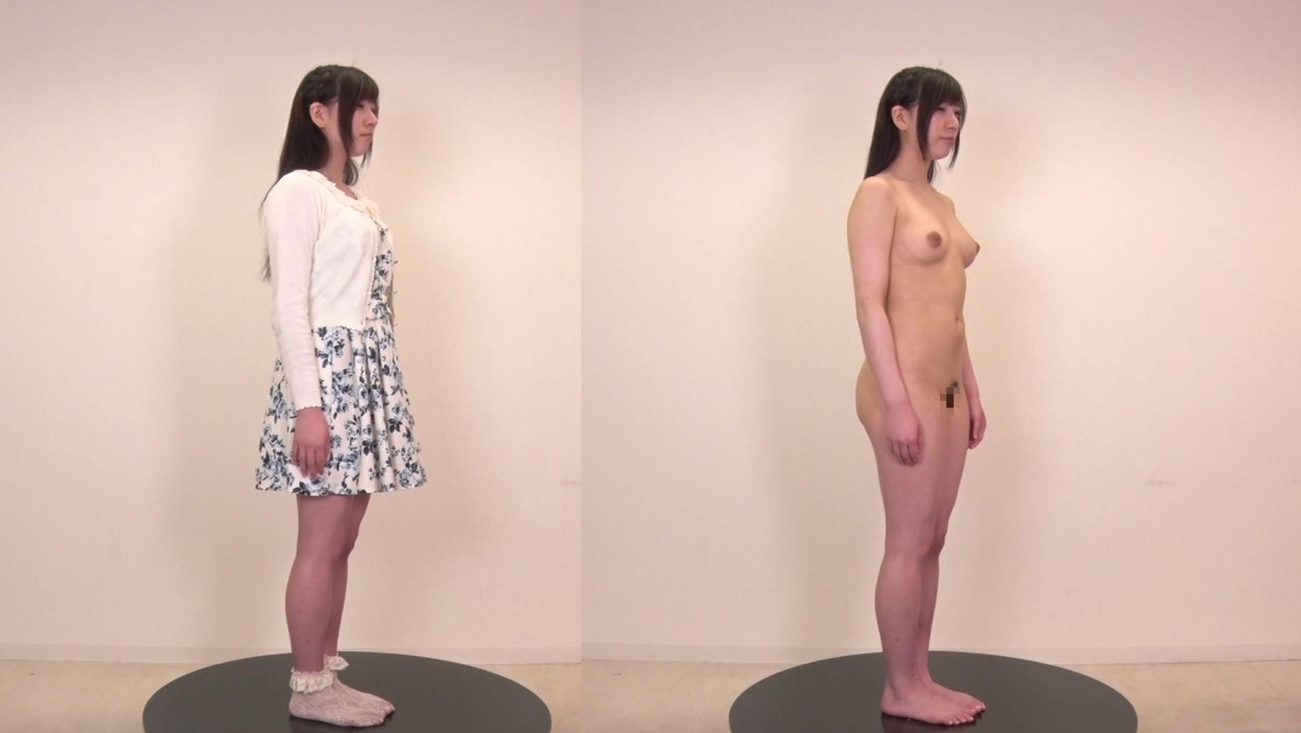 日本人女性の着衣時とヌードの比較 無料サンプル画像 この動画のサンプル画像はクリックで拡大できます。